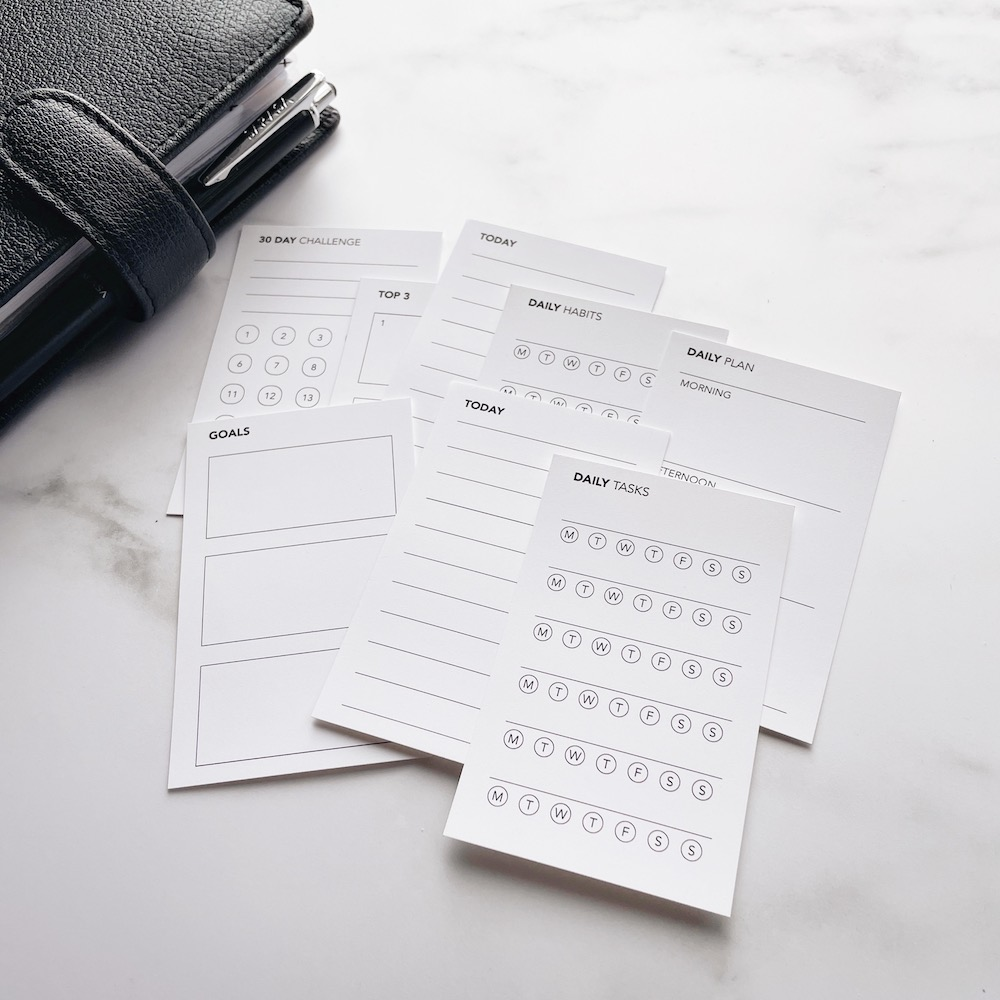 Printable FUNctional Planner Cards
